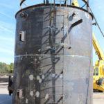 Image erecting a shop tank