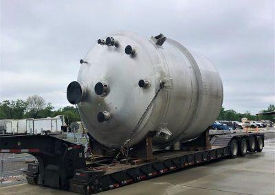 316 Liter stainless steel vessel